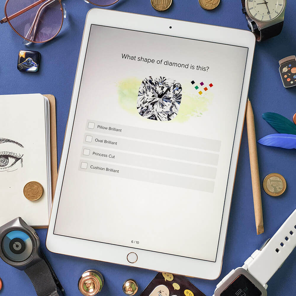 Instagram diamond quiz