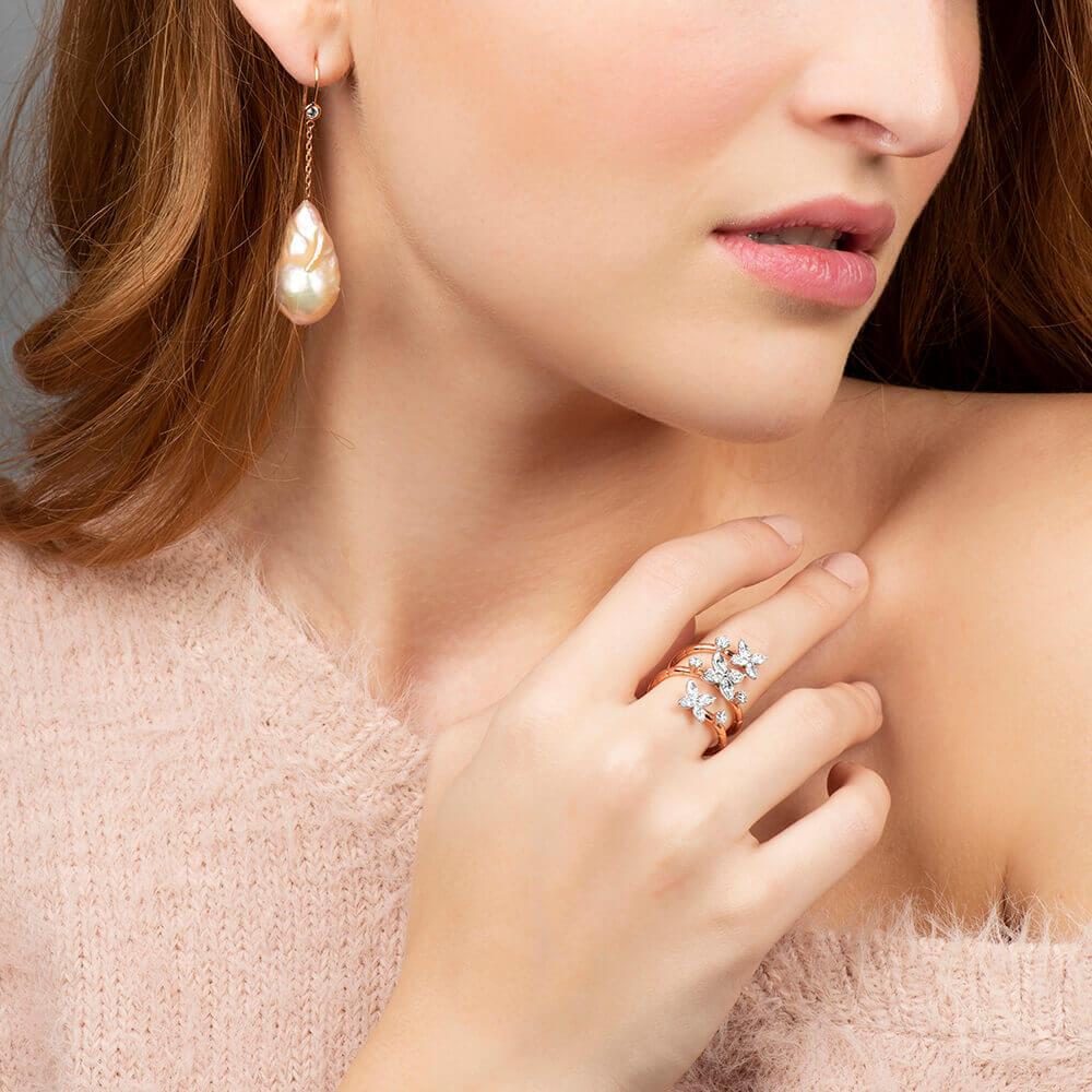 diamond and pearl set